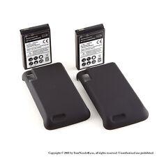 2 x 3500mAh Extended Battery for Motorola Atrix 4G MB860 Cover