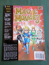 DR LEUNG TING'S - MAGIC MONKEY COMIC - #1 -1992 - INC CARDS   - VG