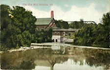 A View of the Old Mill, Pontiac IL