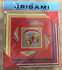 AITOH ORIGAMI PAPER 60 sheet color folding papers, 3 sizes UNOPENED