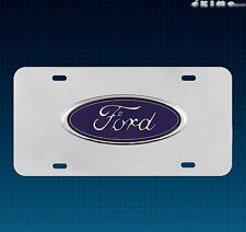 OFFICIAL LICENSED FORD 3D EMBLEM LOGO LICENSE PLATE F150 F250 F350 F450 MUSTANG