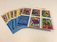 1991 Marvel Marvel Universe Trading Cards Press Sheet Uncut Impel Diamond