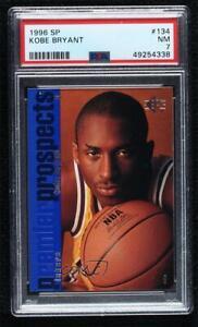 1996-97 SP Kobe Bryant #134 PSA 7 Rookie RC HOF