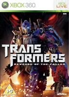 Transformers: Revenge of the Fallen - The Game (Xbox 360) MINT - 1st Class Deliv