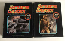 1978 Battlestar Galactica Parker Bros Puzzle Rag Tag Fleet Starbuck 140 Pieces