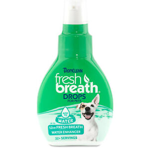 TropiClean | Fresh Breath Drops | For Dogs | 2.2 Ounces