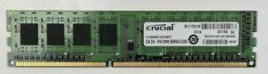 Crucial 6GB 3x 2GB DDR3 CT25664BA1339.M8FR DIMM Desktop RAM 240 Pin