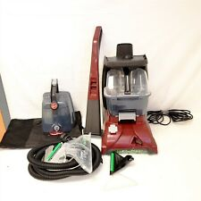 New ListingHoover Fh50150 Power Scrub Deluxe Carpet Cleaner Machine, Upright Shampooer, Red