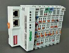 Wago 750-871 Ethernet FieldBus Controller w/ Modules
