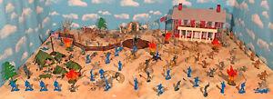 Civil War Playset #3 - Marx Replica 1960s Civil War Playset - 54mm toy soldiers