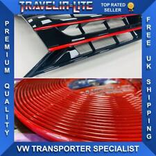 VW T5.1 Red Styling Trim Grille Bumper & DRL 10 - 15 Transporter Brand New