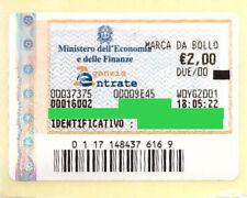 Marca da bollo telematica originale da 2 euro 11 aprile anno 2020 Marche Nuove
