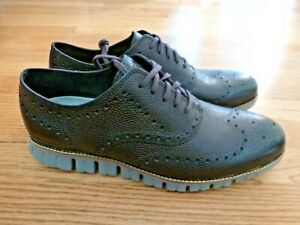 Men's Cole Haan ZEROGRAND Wing Oxfords Shoes Brown 11M $185