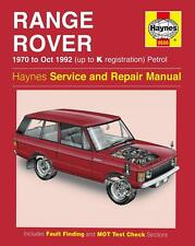 Range Rover 1970-1992 (3.5 & 3.9 V8) Reparaturanleitung workshop service manual
