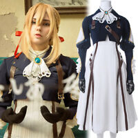 Violet Evergarden Auto Memory Doll Uniform Dress Skirt Outfit Cosplay Costumes