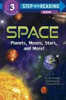 Space: Planets, Moons, Stars, and More! [Step into Reading]