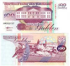 Suriname 100 Gulden P#139b (1998) Centrale Bank van Suriname UNC