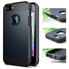 Smart Design Slim iPhone 5S / 5 Case Protective Dual Layer iPhone Cover +3 Flim