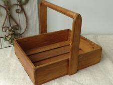 D14 Wooden Box Tragekiste Vintage Box Solid Wood