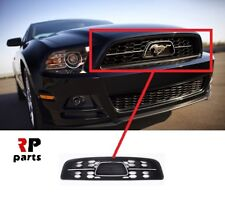 FOR FORD MUSTANG 13-15 PONY PACKAGE FRONT BUMPER UPPER CENTER GRILLE NO BADGE