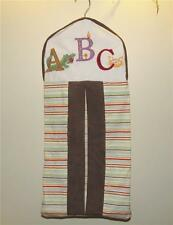 Kidsline My First ABC Diaper Stacker Holder Nursery A B C Striped Alligator Crab