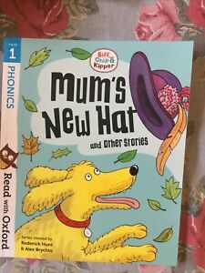 BIFF CHIP AND KIPPER STAGE 1 MUMS NEW HAT BOOK PHONICS EARLY LEARNING OXFORD NEW