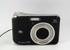 GE Smart Series A950 9.1MP Digital Camera - Black