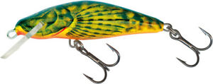 Salmo Bullhead 6 CM Sinking Artificial Bait For Trout - Scazzone Sinking
