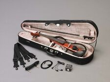 YAMAHA SV130S BR Brown silent violin set with Case , Bow , Rosin Fast Shipping
