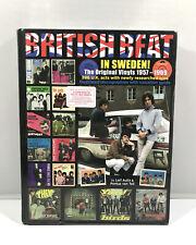British Beat In Sweden! The Original Vinyls 1957-1969 Hardback Book 396 UK Acts