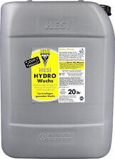 HESI Hydro Wuchs NPK Dünger Wachstum Indoor Grow 20 L Liter Hydrokultur Anzucht