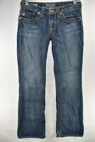 Big Star Maddie 19 Boot Cut Womens Jeans Size 25R Bootcut Meas 28x31 Stretch