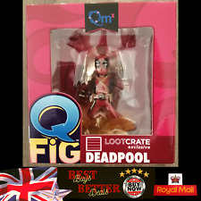 Q Fig DEADPOOL Figure Loot Crate Exclusive Brand New FREE UK Delivery
