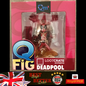 Q Fig DEADPOOL Figure Loot Crate Exclusive Brand NEW