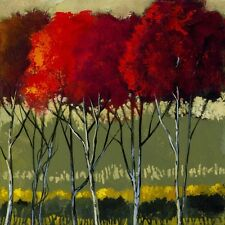 "Ford Smith, ""Blythe Spirit"", open edition digital print, colorful trees."