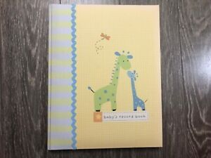 Carter's Baby Record Book New with defects