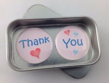 Say It With Magnets. 'Thank You' Magnet Gift Set With Tin.