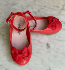 NEW Size 8 Jelly Beans Toddler Red Patent Mary Jane Shoes
