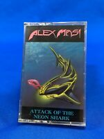 [SEALED] Alex Masi – Attack Of The Neon Shark Cassette Tape Hard Rock 1989 *OOP
