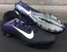 Nike Vapor Untouchable 2 Football Cleat Black Purple Ravens 835646-003 Size 14