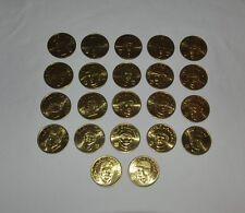22 Coin Set Brass Slammer MLB 1992 Sports Stars Collectors Coins Ramon Martinez