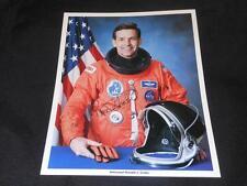 NASA Astronaut Ronald Grabe Official 8x10 Auto Pen Facimile Signed Photo JB10