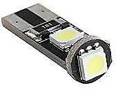 1 Ampoule verte T10 W5W C10W 3 leds 5050 SMD anti-erreur ODB