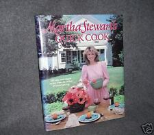MARTHA STEWART'S QUICK COOK 1983  1ST ED. BEAUTIFUL