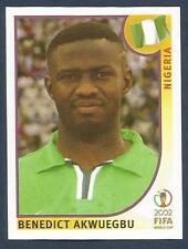PANINI KOREA/JAPAN WORLD CUP 2002- #417-NIGERIA-BENEDICT AKWUEGBU