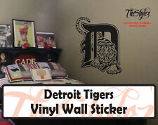 Detroit Tigers Baseball Vinyl Wall Sticker