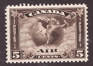 #C2 - Canada - 1930 - 5 Cent Air Mail - F/VF MNH - superfleas - cv$100