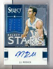 J.J. Redick 2012-13 Select Stars Auto Jersey #222/299 MAGIC CLIPPERS