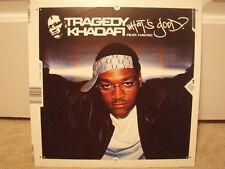 "TRAGEDY KHADAFI + HAVOC - WHAT'S GOOD? (+REMIX) (12"") 2001!!  RARE!! MOBB DEEP ♫"