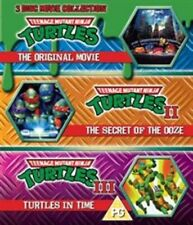 Teenage Mutant Ninja Turtles - The Movie Collection (Blu-ray, 2013, 3-Disc Set)